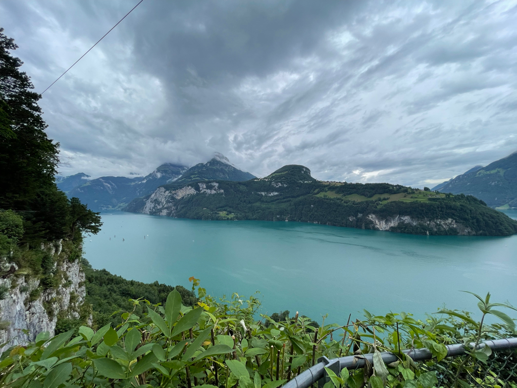 View of lake Lucerne